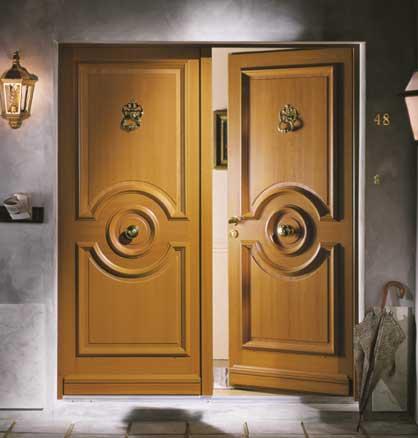 nos mod les de portes d 39 entr e pleines en bois. Black Bedroom Furniture Sets. Home Design Ideas